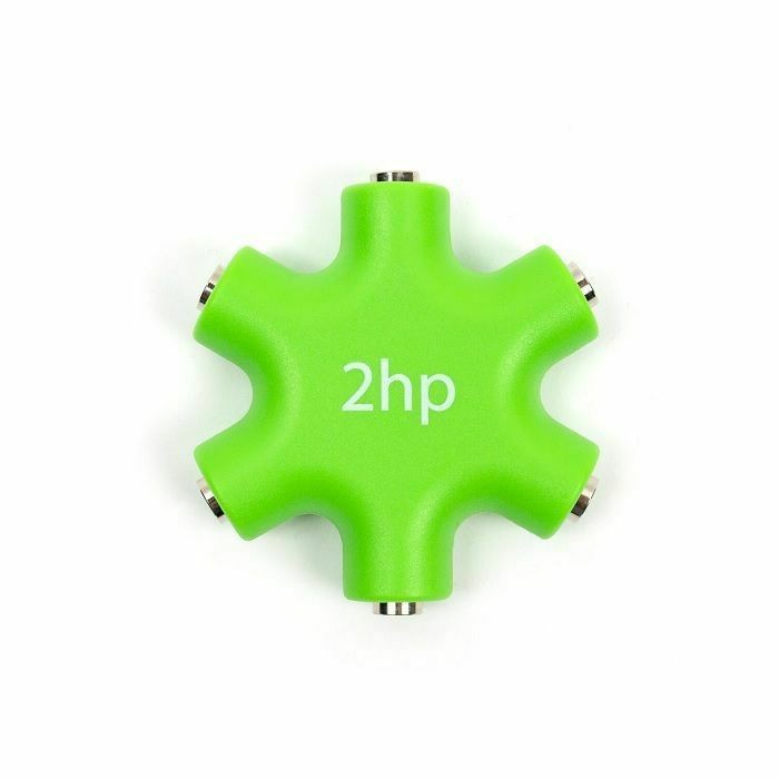 2HP - 2hp Zero HP Mult Cable Splitter (green with white artwork)