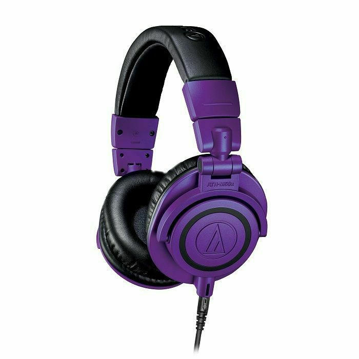 AUDIO TECHNICA - Audio Technica ATH-M50X Limited Edition Professional Studio Monitor Headphones (purple & black)