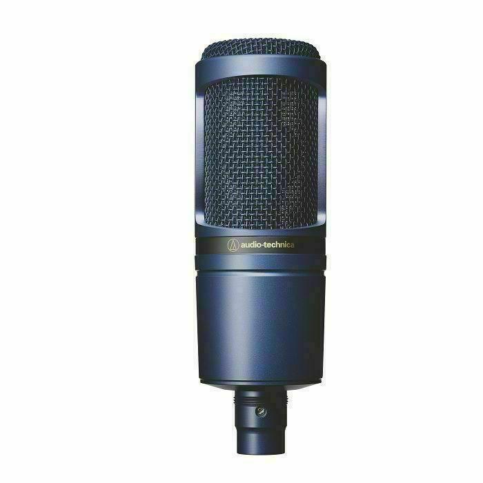 AUDIO TECHNICA - Audio Technica AT2020 Limited Edition Large Diaphragm Condenser Microphone (indigo blue)