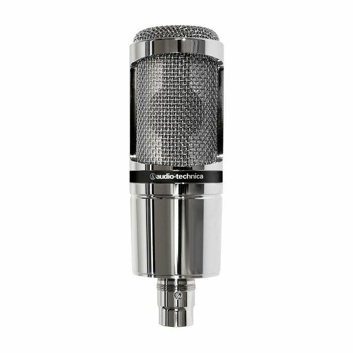 AUDIO TECHNICA - Audio Technica AT2020 Large Diaphragm Condenser Microphone (chrome)