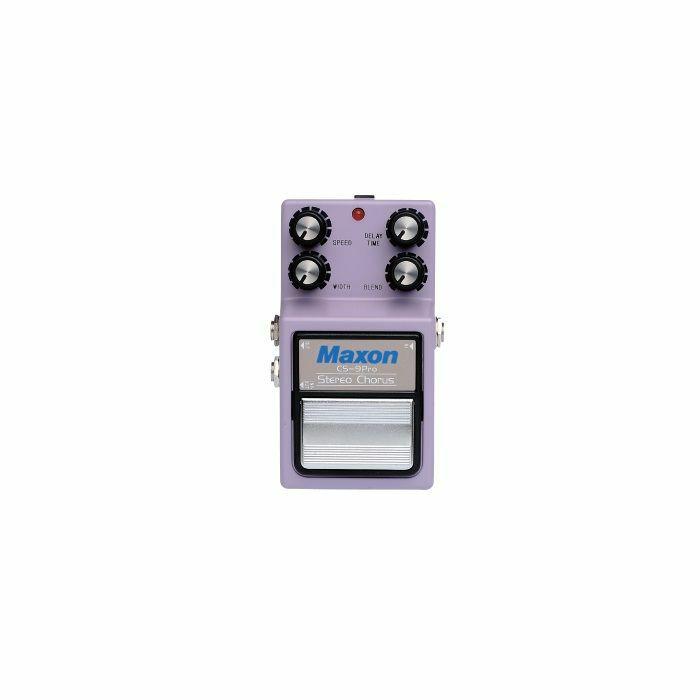 MAXON - Maxon CS-9 Stereo Chorus Pro Nine Series Pedal
