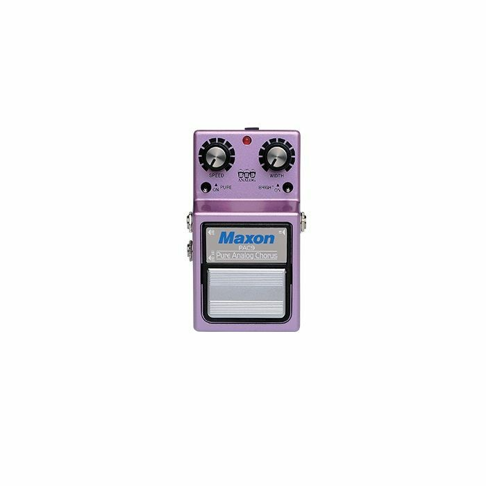 MAXON - Maxon PAC-9 Pure Analog Chorus Nine Series Pedal