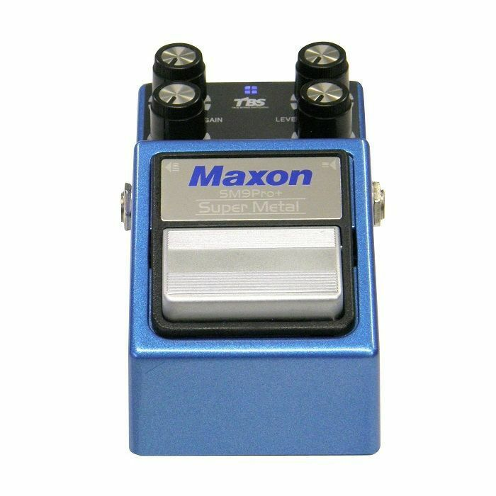 MAXON - Maxon SM-9 PRO+	Super Metal Distortion Nine Series Pedal