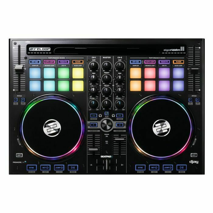 RELOOP - Reloop Beatpad 2 DJ Controller For iOS Android Mac & PC (B-STOCK)
