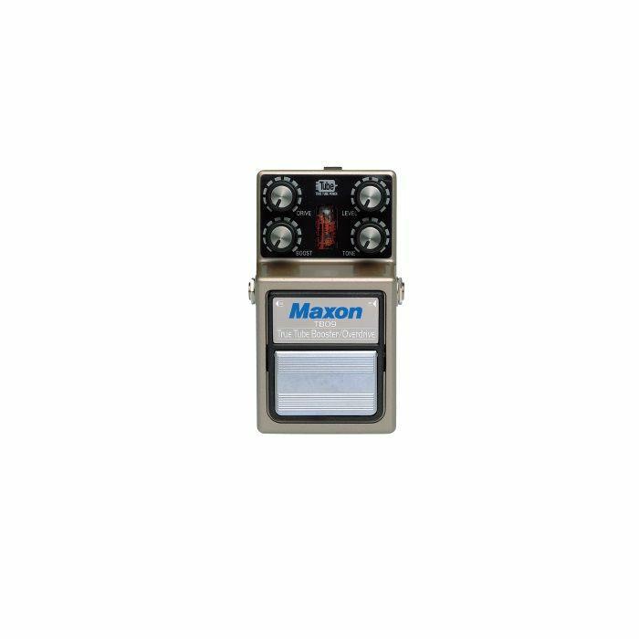 MAXON - Maxon TBO-9 True Tube Booster/Overdrive Nine Series Pedal