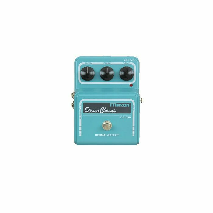 MAXON - Maxon CS-550 Stereo Chorus Pro Vintage Series Pedal