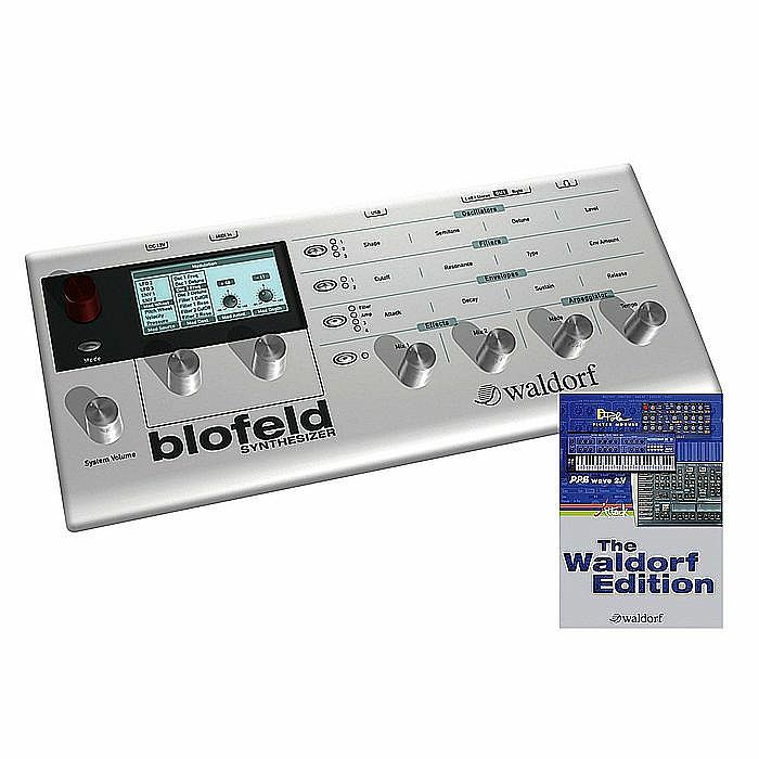 WALDORF - Waldorf Blofeld Desktop Synthesizer (white) (B-STOCK)