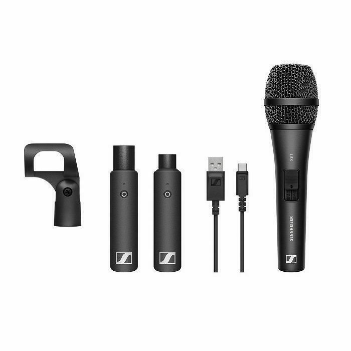 SENNHEISER - Sennheiser XSW-D Vocal Set Digital Wireless Handheld System With Cardioid Dynamic Vocal Microphone