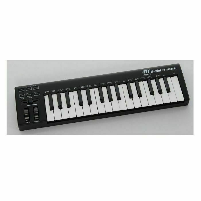 MIDITECH - Miditech i2-Mini 32 Plus Midsize USB MIDI Master Keyboard