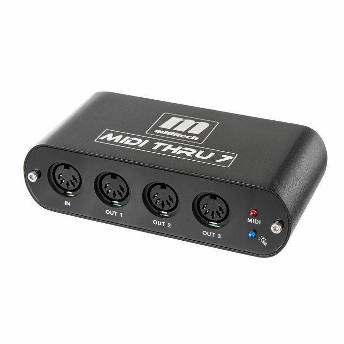 MIDITECH - Miditech MIDI Thru7 V2 MIDI Thru Box
