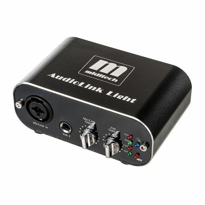 MIDITECH - Miditech Audiolink Light USB Audio Interface