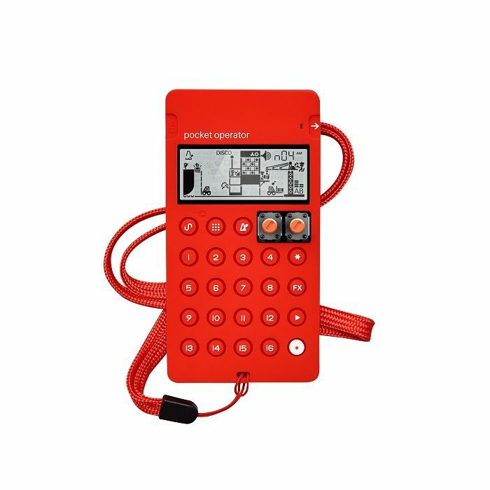 TEENAGE ENGINEERING - Teenage Engineering CA-X Universal Silicone Case For Pocket Operators (red)