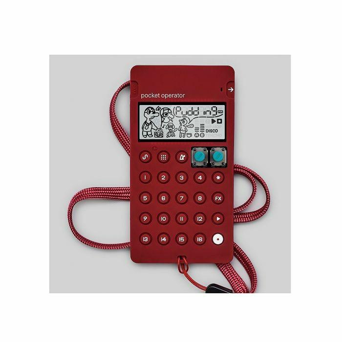TEENAGE ENGINEERING - Teenage Engineering CA-X Universal Silicone Case For Pocket Operators (burgundy)
