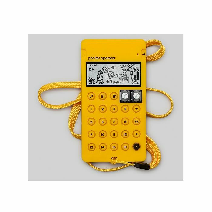 TEENAGE ENGINEERING - Teenage Engineering CA-X Universal Silicone Case For Pocket Operators (yellow)