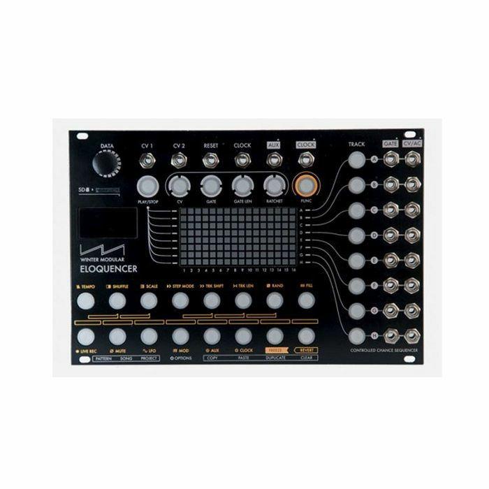 WINTER MODULAR - Winter Modular Eloquencer Sequencer Module (black)