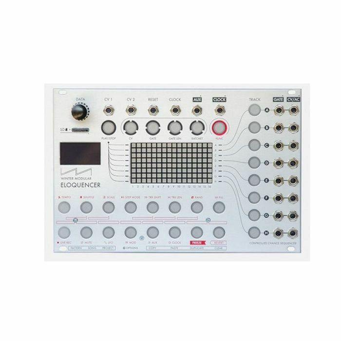 WINTER MODULAR - Winter Modular Eloquencer Sequencer Module (silver)