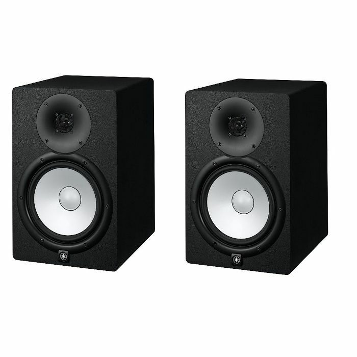 YAMAHA - Yamaha HS8 Matched Pair Powered Studio Monitors (black, pair)