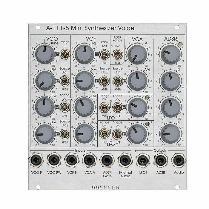 DOEPFER - Doepfer A-111-5 Mini Synthesiser Voice Module