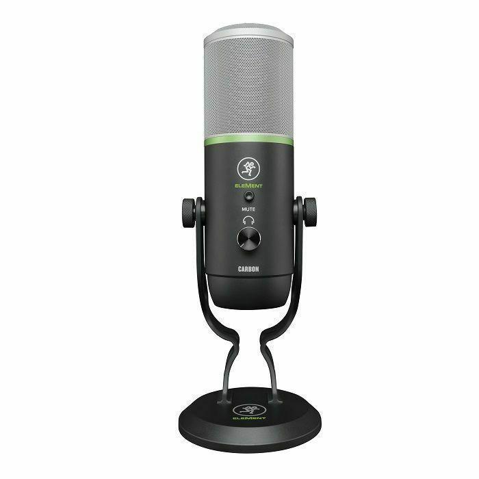MACKIE - Mackie Element Series Carbon Premium USB Condenser Microphone
