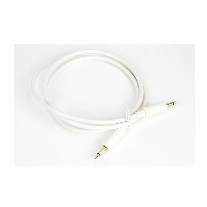 ELECTROSMITH - Electrosmith Patch Pal 12 Inch Standard Eurorack Patch Cable (white, single)