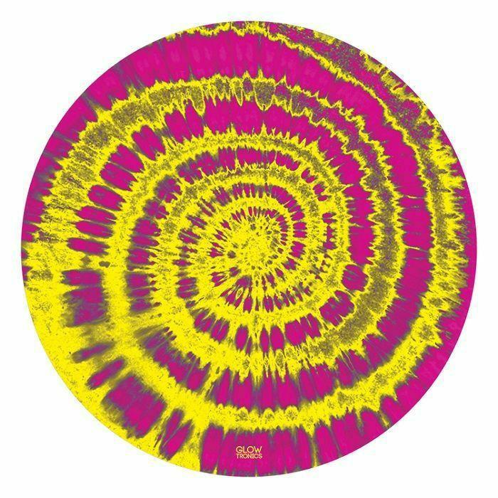 GLOWTRONICS - Glowtronics Tie Dyed UV Blacklight 12 Inch Slipmats (pair)