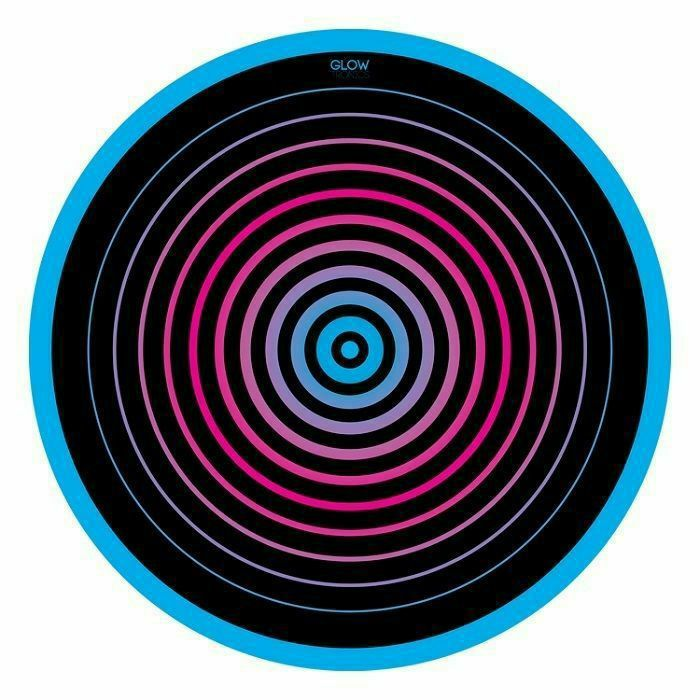 GLOWTRONICS - Glowtronics Circles UV Blacklight 12 Inch Slipmats (pair)