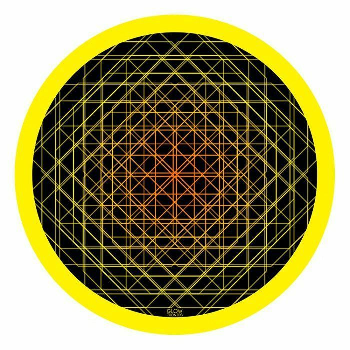 GLOWTRONICS - Glowtronics Sacred Depth UV Blacklight 12 Inch Slipmats (pair)