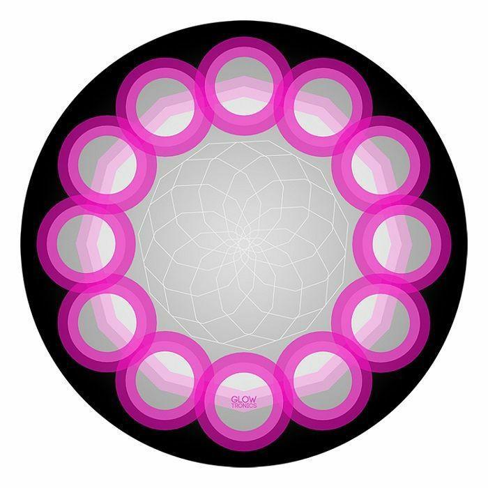 GLOWTRONICS - Glowtronics Sacred Orbs UV Blacklight 12 Inch Slipmats (pair)