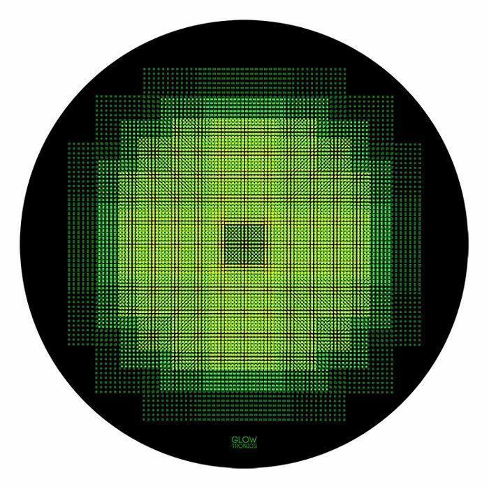 GLOWTRONICS - Glowtronics Sacred Pixel UV Blacklight 12 Inch Slipmats (pair)