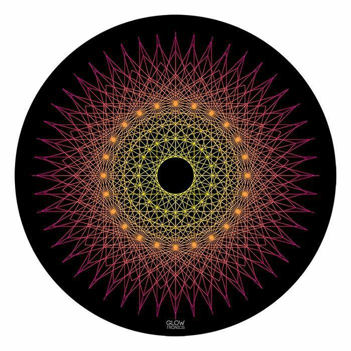 GLOWTRONICS - Glowtronics Sacred Spikes UV Blacklight 12 Inch Slipmats (pair)