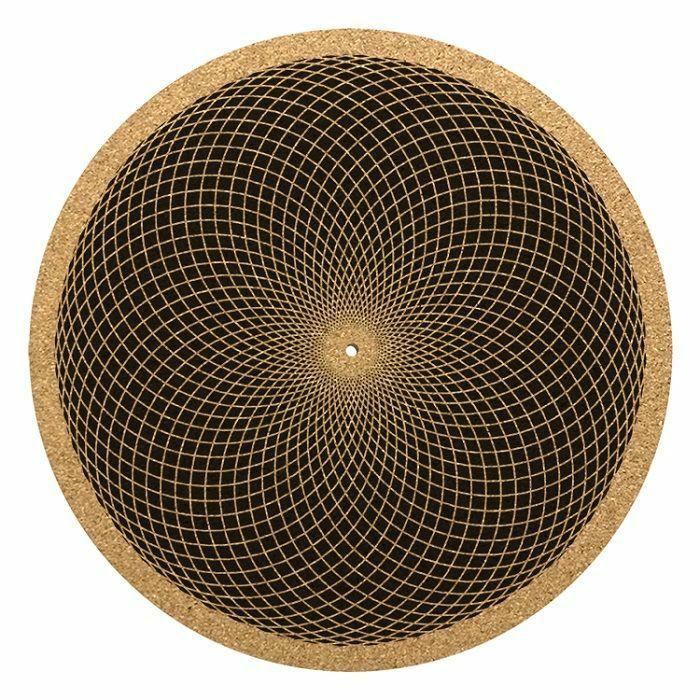 GLOWTRONICS - Glowtronics Sacred Net Cork 12 Inch Slipmat (single)