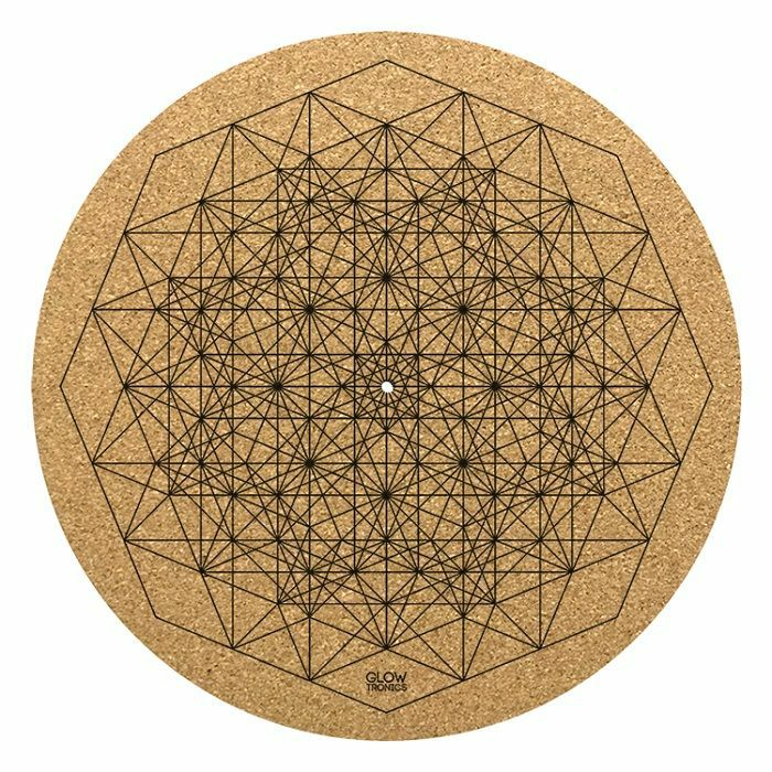 GLOWTRONICS - Glowtronics Sacred Poly-Ester Cork 12 inch Slipmat (single)