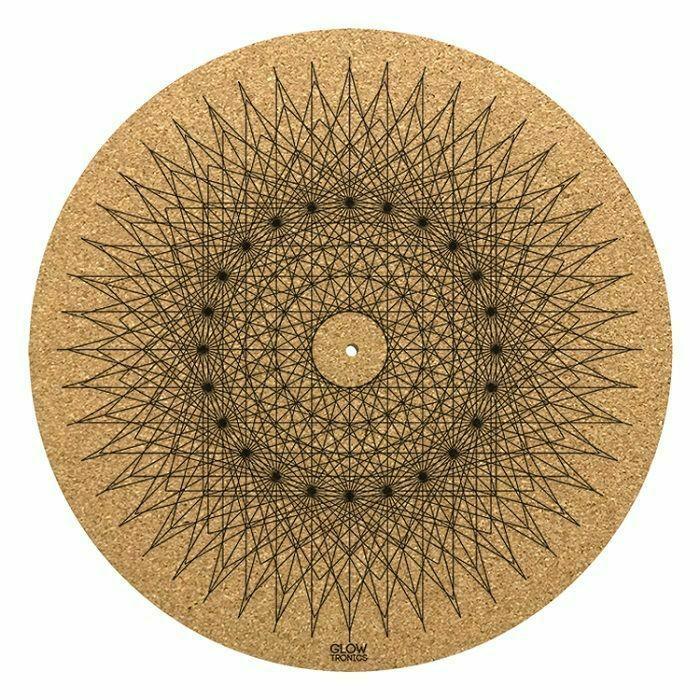 GLOWTRONICS - Glowtronics Sacred Spikes Cork 12 Inch Slipmat (single)