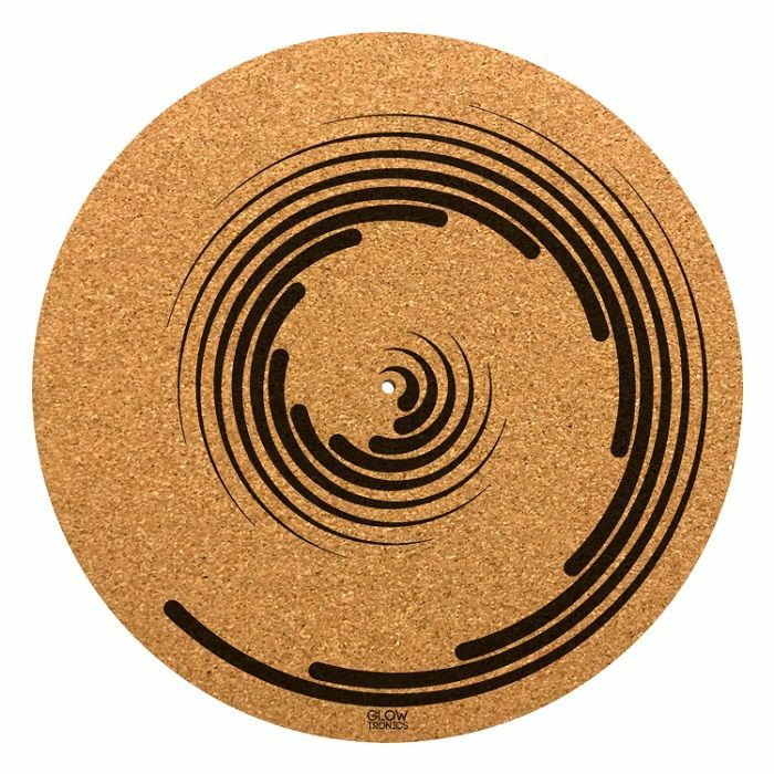 GLOWTRONICS - Glowtronics Spiral Cork 12 Inch Slipmat (single)