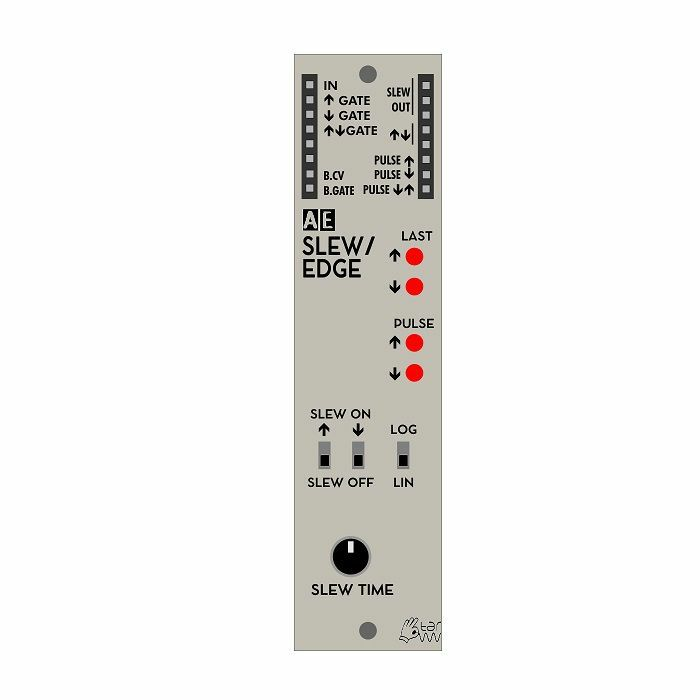 TANGIBLE WAVES - Tangible Waves AE Modular SLEW/EDGE CV Slew Limiter & Edge Detector Module