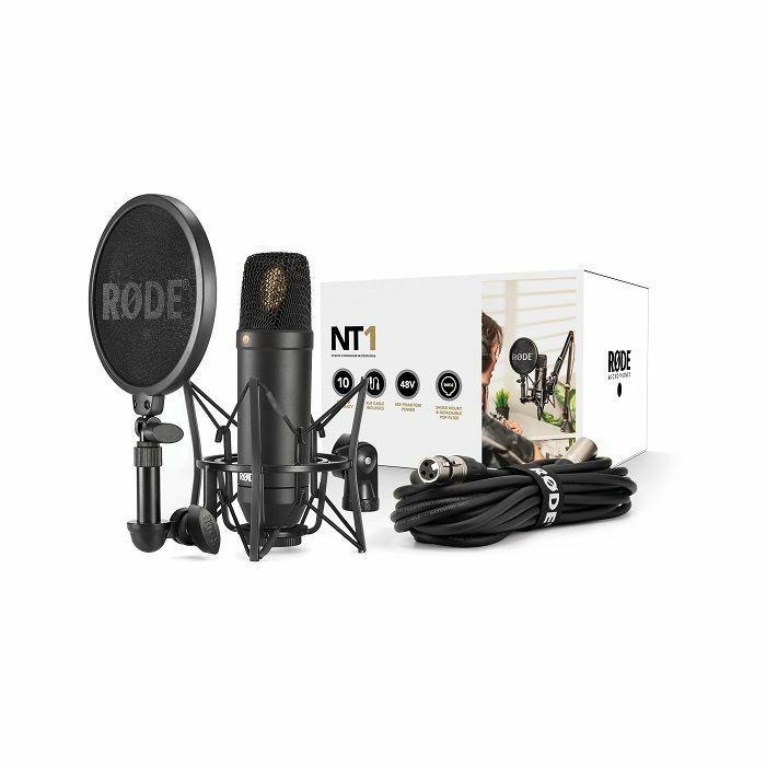 RODE - Rode NT1 Cardoid Condenser Microphone Kit (black) (B-STOCK)