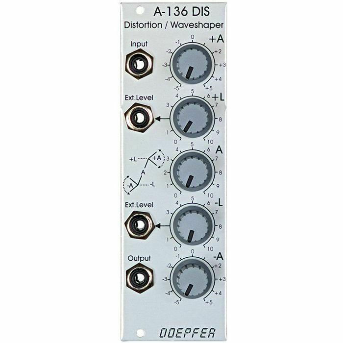 DOEPFER - Doepfer A-136 Distortion & Waveshaper Module (B-STOCK)