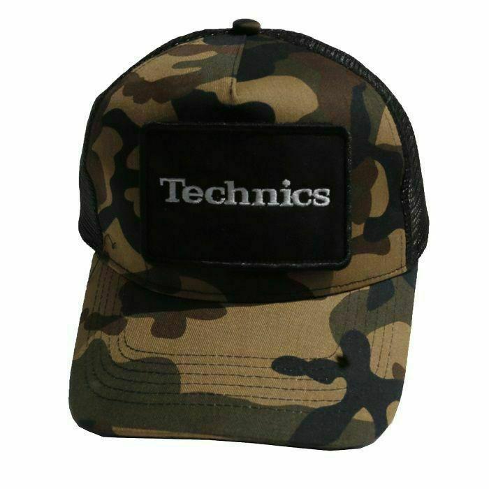 TECHNICS - Technics Patch Snapback Trucker Cap (camo green)