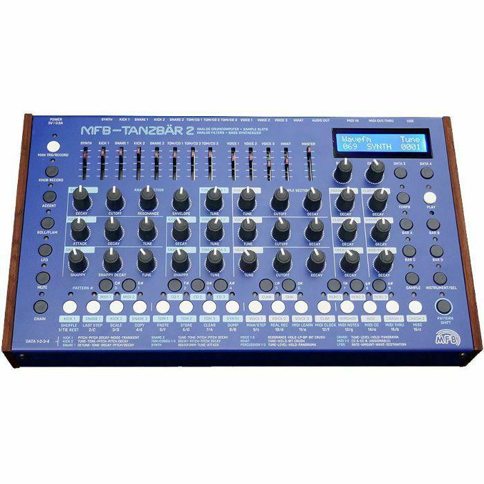 MFB - MFB Tanzbar 2 Analogue Drum Computer & Bass Synthesiser (B-STOCK)