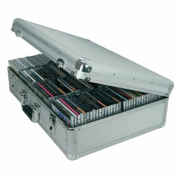 CITRONIC - Citronic CDA120 Aluminium CD Flight Case (holds 120 CDs) (B-STOCK)