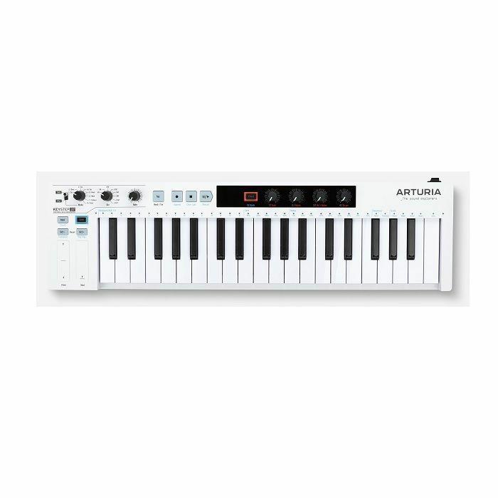 ARTURIA - Arturia Keystep 37 Portable USB MIDI Keyboard Controller & Sequencer