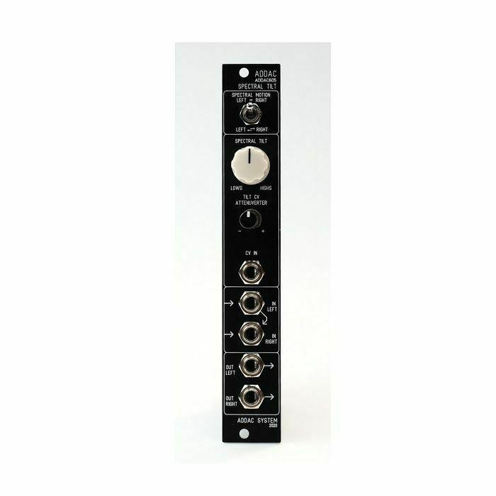 ADDAC SYSTEM - ADDAC System ADDAC605 VC Spectral Tilt Module (black faceplate)