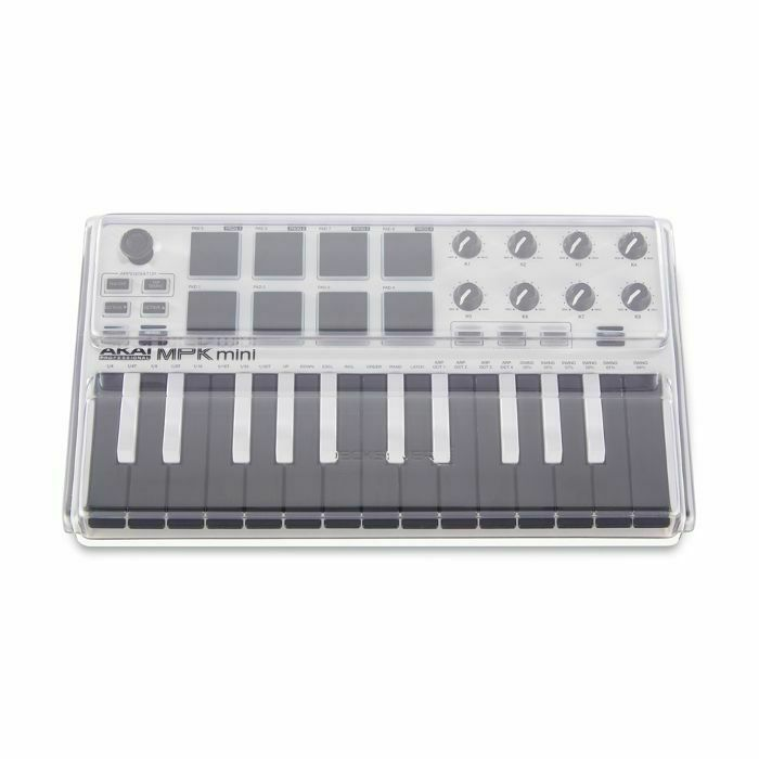 DECKSAVER - Decksaver Akai MPK Mini Mk2 Keyboard Controller Light Edition Cover (smoked clear, light edition) (B-STOCK)