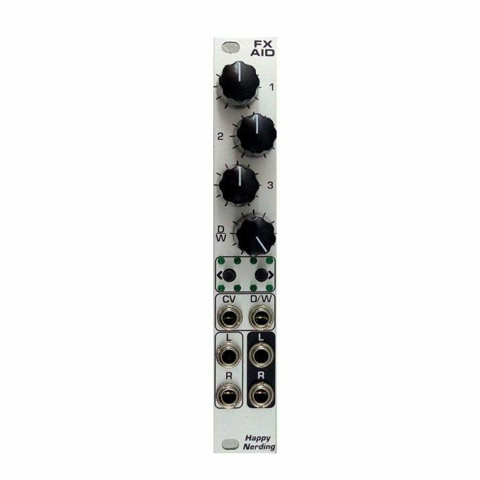 HAPPY NERDING - Happy Nerding FX AID Multiple Audio Effects Module (silver faceplate)