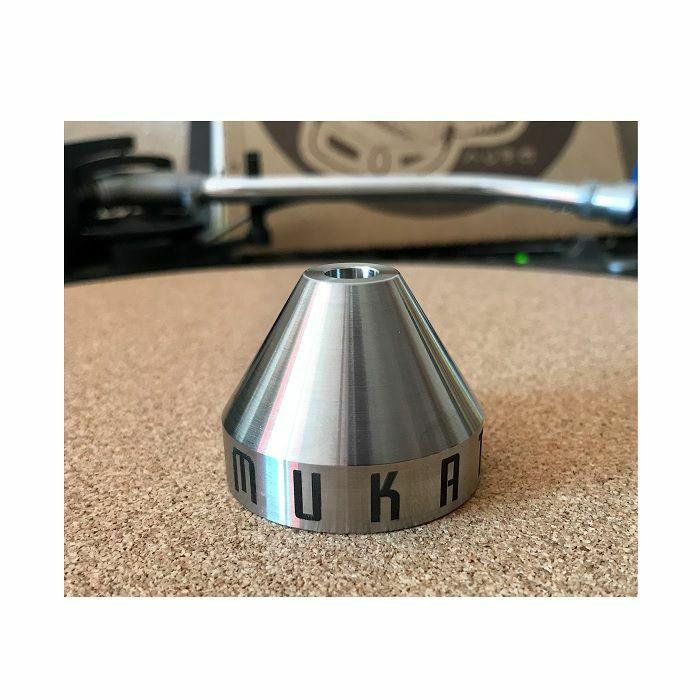 MUKATSUKU - Mukatsuku Heavy Stainless Steel Pyramid 45 Adapter (Juno exclusive)