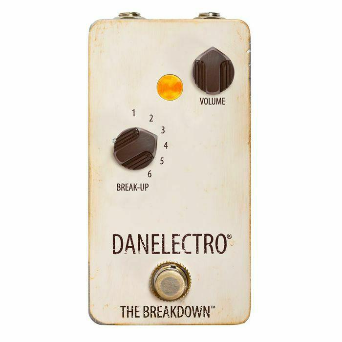 DANELECTRO - Danelectro The Breakdown Boost Overdrive Pedal (B-STOCK)