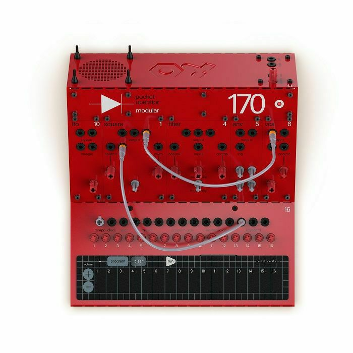 TEENAGE ENGINEERING - Teenage Engineering POM-170 Home-Build Analogue Monophonic Synthesiser With Built-in Programmable Sequencer (B-STOCK)