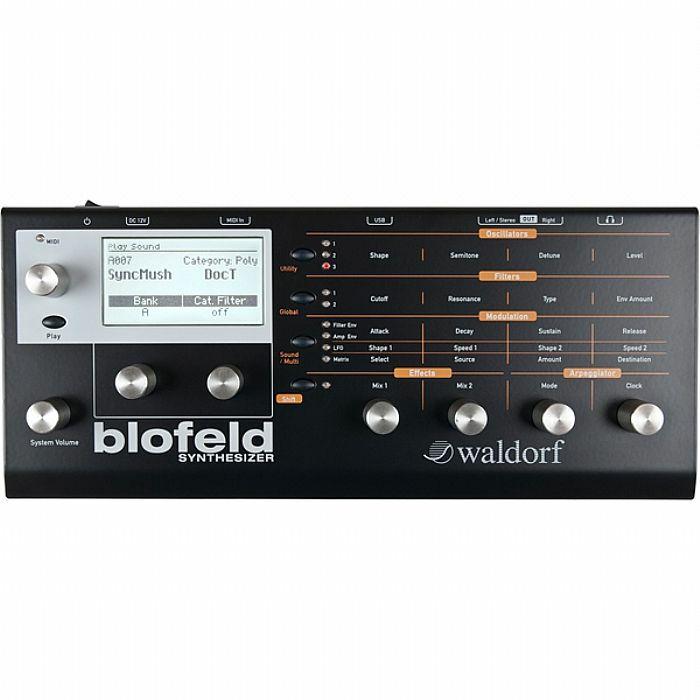 WALDORF - Waldorf Blofeld Desktop Synthesizer (Shadow edition, black) (B-STOCK)