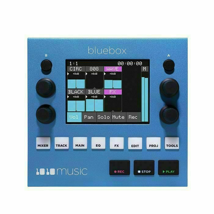 1010 MUSIC - 1010 Music Bluebox Compact Digital Mixer & Recorder