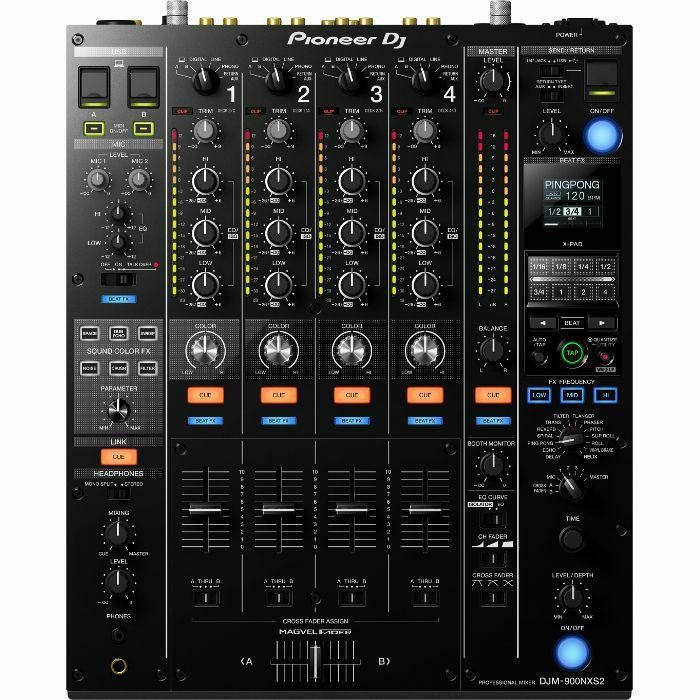 PIONEER - Pioneer DJM900NXS2 Professional DJ Mixer (black) (B-STOCK)